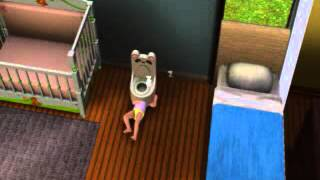 The Sims 3: Toddler sleeping in potty glitch