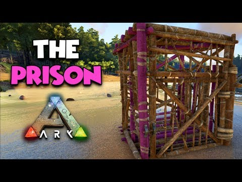 THE PRISON - ( Ragnarok ) ARK Duo Survival Series #9