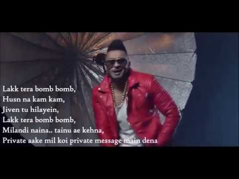 Bomb Bomb Kamal Raja Ft F1rstman Lyrics...