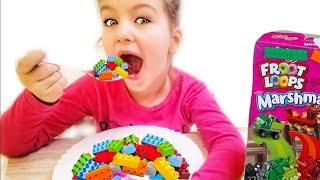 Lego breakfast chocolate cereal ,ليغو الإفطار حبوب الشوكولاته