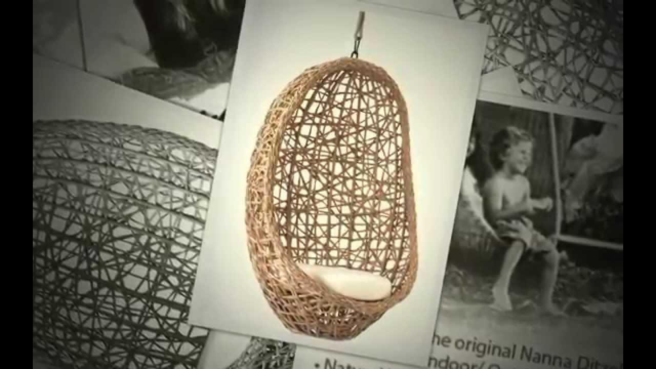 Egg chair hanging egg chair youtube for How to make an egg chair
