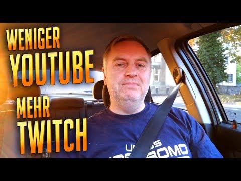Weniger YouTube - Mehr Twitch | Vlog Deutsch