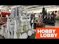 HOBBY LOBBY CHRISTMAS SHOPPING STORE WALK THROUGH 2018 - Christmas Trees Decorations Home Decor