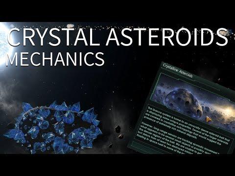 Stellaris - Crystal Asteroids Mechanics