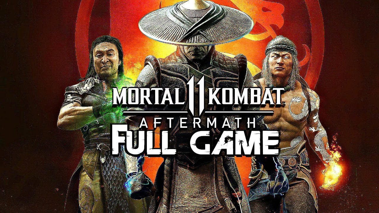 MORTAL KOMBAT 11 AFTERMATH - Gameplay Walkthrough FULL GAME (Story Expansion) All Cutscenes, Ending