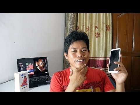 Vivo V7 Plus Gold Unboxing Indonesia