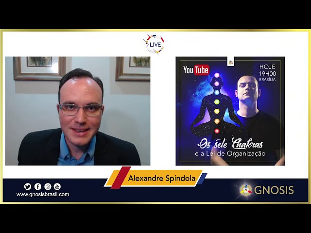 LIVE - Os 7 Chakras e a Lei de Organização