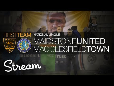 Maidstone United Vs Macclesfield (21/03/18)