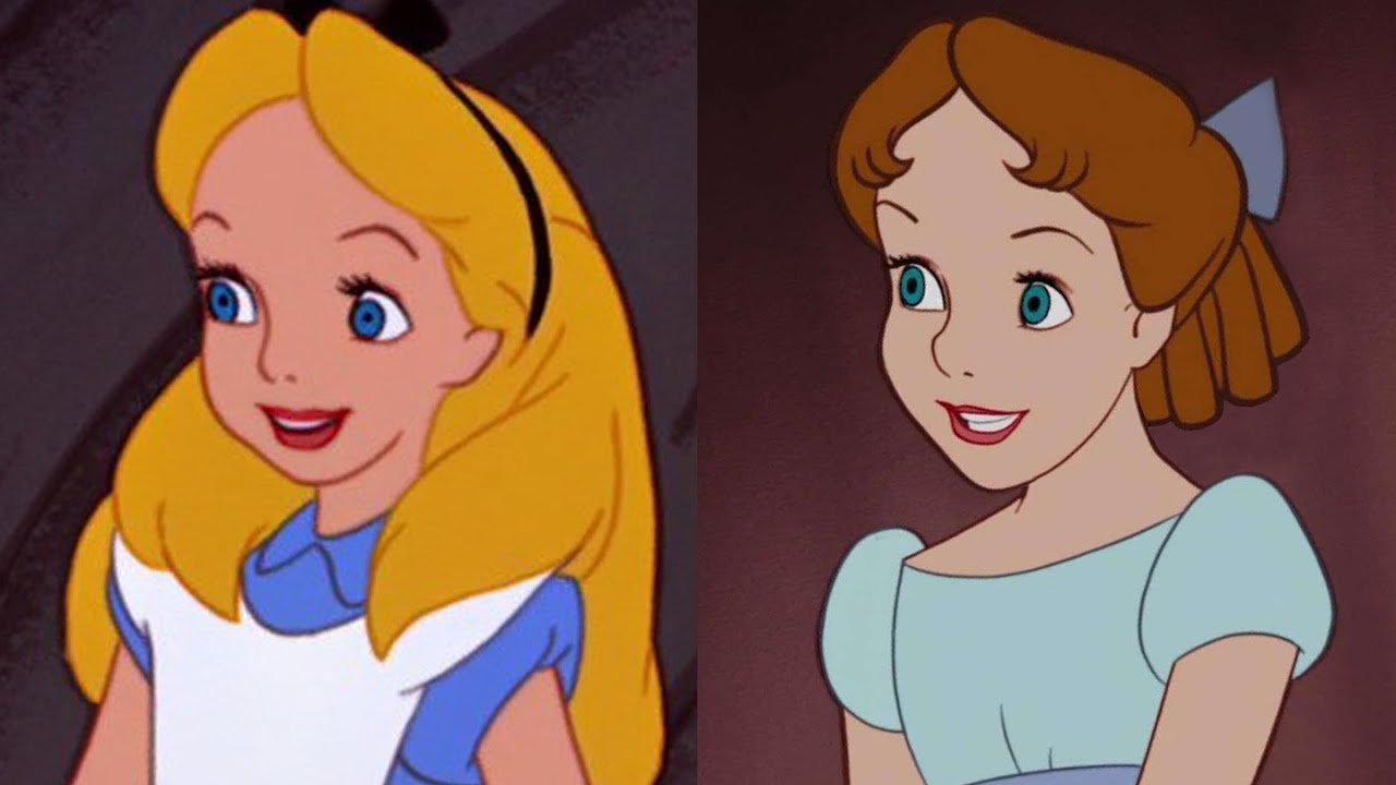 Disney Doppelgangers: Alice & Wendy