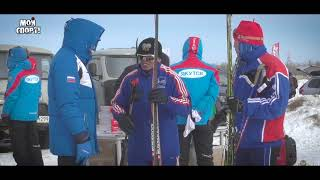 Открытый чемпионат города Якутска по лыжным гонкам в поселке Владимировка.