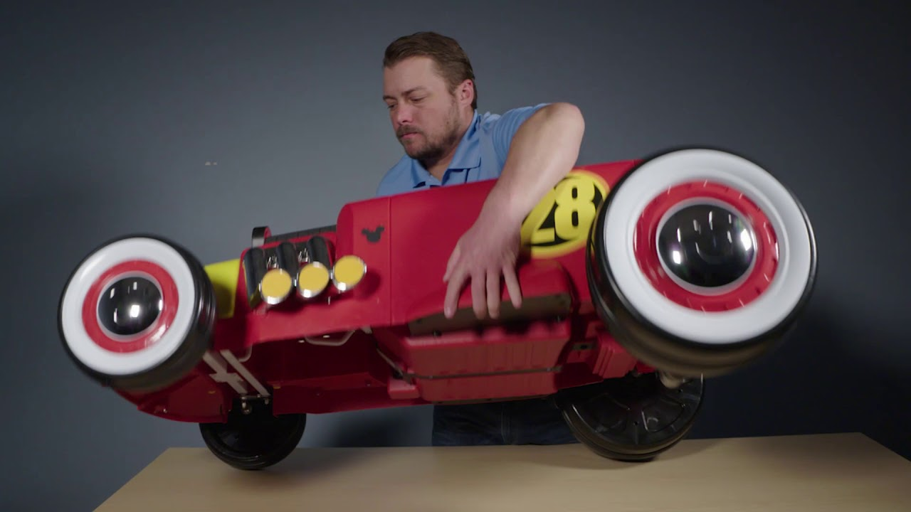 How to Assembly the Disney Mickey Racer Ride-On, Huffy