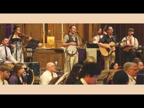 Wagon Wheel with a 52 piece orchestra