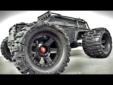 Thunder Tiger K-Rock MT4 G5 & Redcat Racing Terremoto 10 jumps on 1080 Flybox Ramp