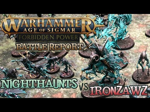 Warhammer: Age of Sigmar Battle Report - Nighthaunts vs. Ironjawz