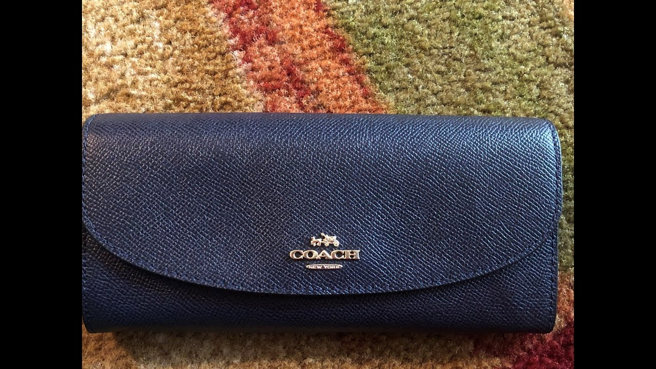 b88a2f506046 COACH Slim Envelope Wallet