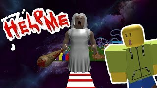 ESCAPE FROM THE MAD GRANDMA! (Roblox Obby)