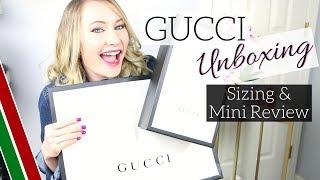 GUCCI Shoe Unboxing + Sizing & Review | AmandaRaeRevue