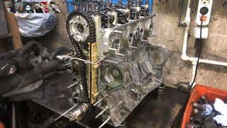 Москвич 2137i Часть 8 - Сборка двигателя