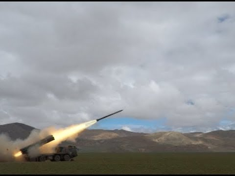 PLA Conducts Live-fire Drill in Tibet