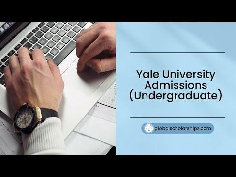 Yale University Scholarships 2019 (Fully Funded