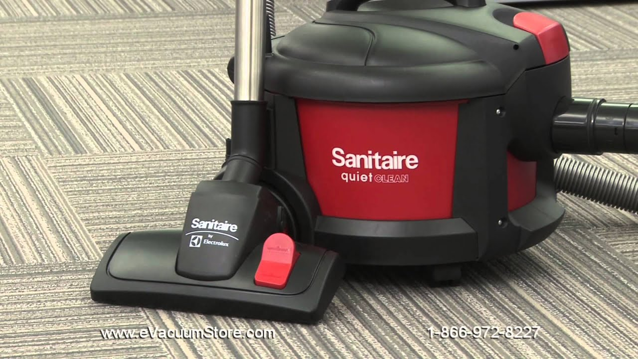 Sanitaire Commercial Canister Vacuum Cleaner Maintenance