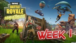 Video Aon's Fortnite Battle Royale Highlights - Week 1 download MP3, 3GP, MP4, WEBM, AVI, FLV Juli 2018