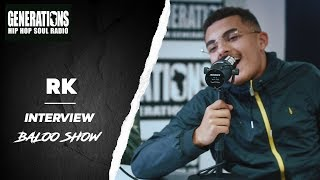 RK - Interview BalooShow : son album, Skyrock, les femmes, ses ''Rêves de Gosse''...