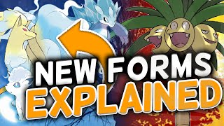 NEW POKEMON FORM ANALYSIS!! - Pokémon Sun and Moon