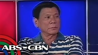Duterte to CHR: Sue me