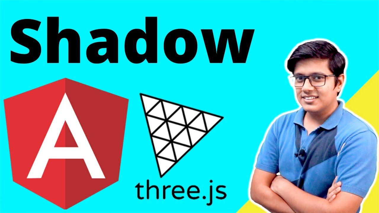 Shadows in Three.js - 3D Web Development