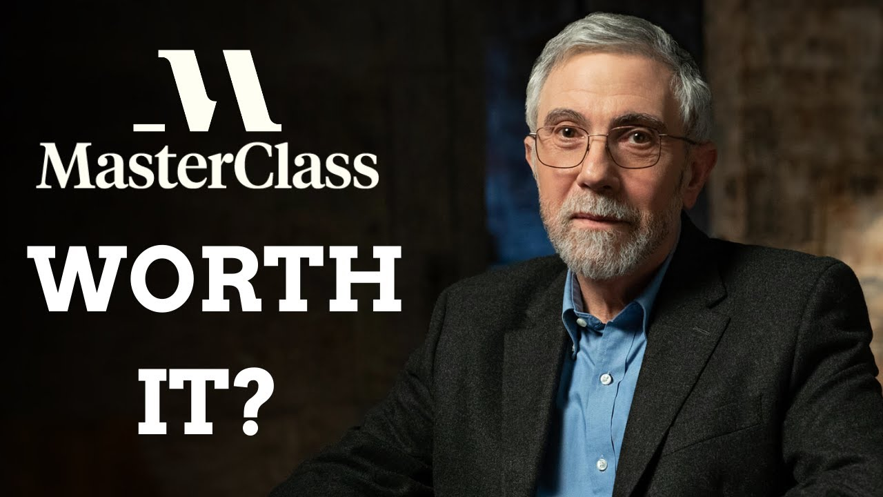 Paul Krugman Masterclass Review - Is It Worth the money?
