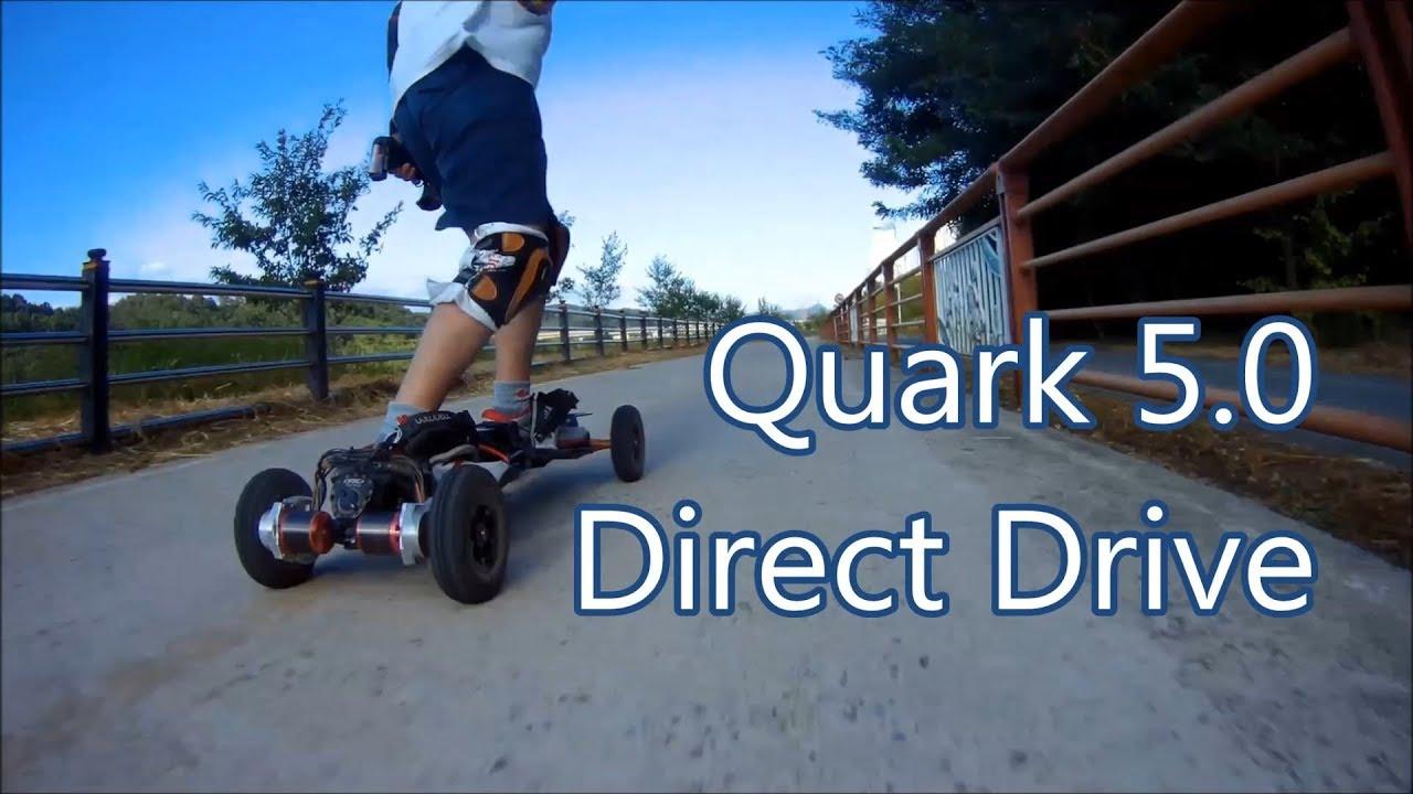 Electric Mountain board Quark 5.0 Direct Drive Making video #1  전동마운틴보드 끝판왕 쿼크5.0 제작 영상