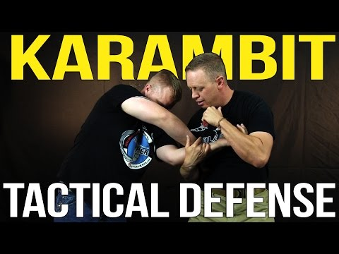 Karambit Tactical Defense: How to use a knife to protect a sidearm