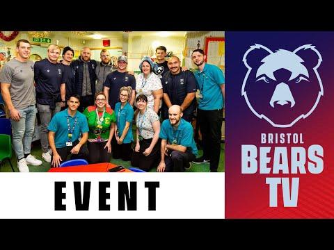 Bristol Bears Make Festive Visit To Royal Hospital For Children