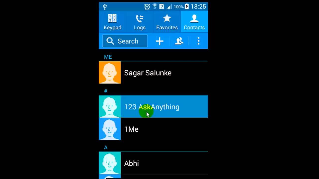 Phone How To Delete Contacts From An Android Phone how to delete all contacts in android phone youtube phone
