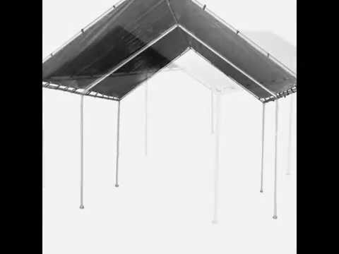 best authentic e068d aee6e 12x20 Heavy Duty Silver Canopy Tarp From BJC Products