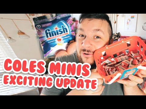 Coles Mini Collectables Exciting Update