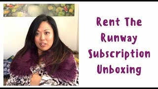 Rent The Runway Subscription Unboxing