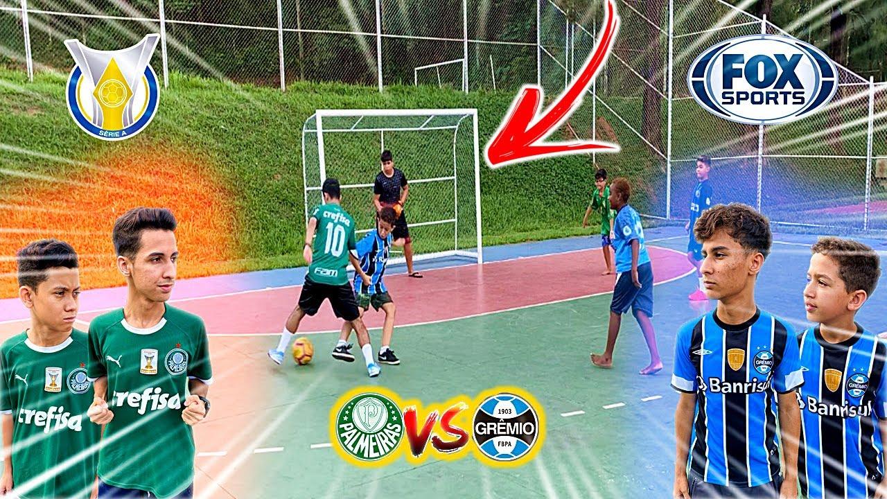 PALMEIRAS vs GRÊMIO JOGO 5 vs 5 COPA DO BRASIL DESAFIOS DE ...