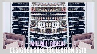 DESIGNER SHOE COLLECTION SS18 | MIU MIU REVEAL | IAM CHOUQUETTE