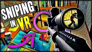 Sniping In a GIANT Living Room | Gun Game RATS Map (Bullets And More VR)