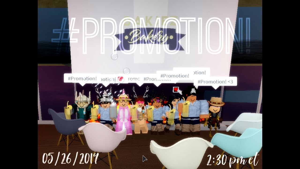 I GOT PROMOTED TO 7   PROFESSIONAL AT BAKIEZ BAKERY    ROBLOX