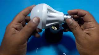 free energy magnet generator  for light bulb  - science experiments