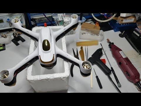 Hubsan H501S Crude Camera Adjust Mod