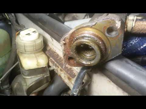 Замена главного цилиндра сцепления