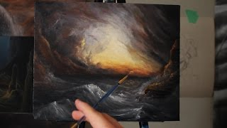 Painting Waves After the Storm - Ryan O