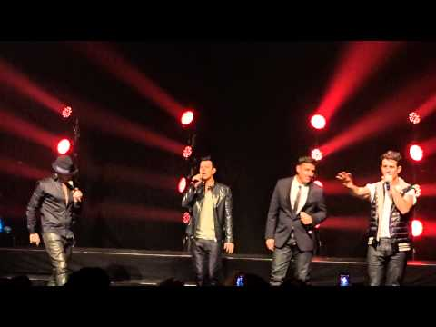 New Kids on the Block - Click, Click, Click @ the Gramercy Theater