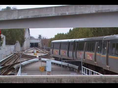 Marta Red Line Train is Terminating at North Springs Station.MP4
