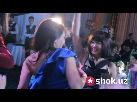 Актриса Саида Саидбекованинг тўйидаги актрисаларнинг рақси