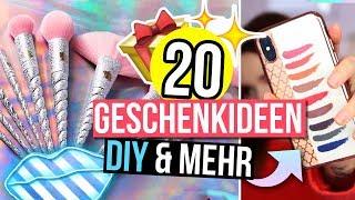 20 GESCHENKIDEEN für WEIHNACHTEN - DIYs & mehr! (für MAKEUP LIEBHABER!) #24DaysOfChristmas